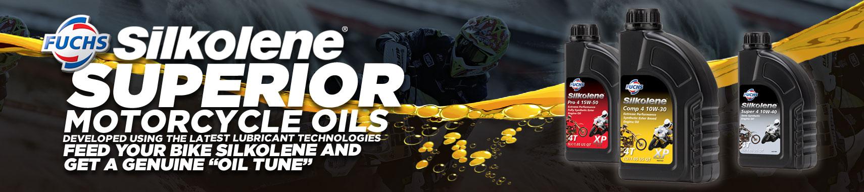 Silkolene Motorcross Oils