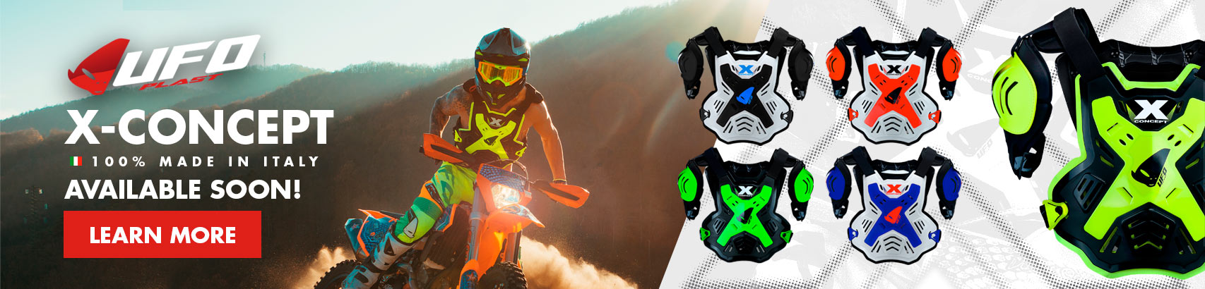 2018 UFO X-Concept Chest Protector