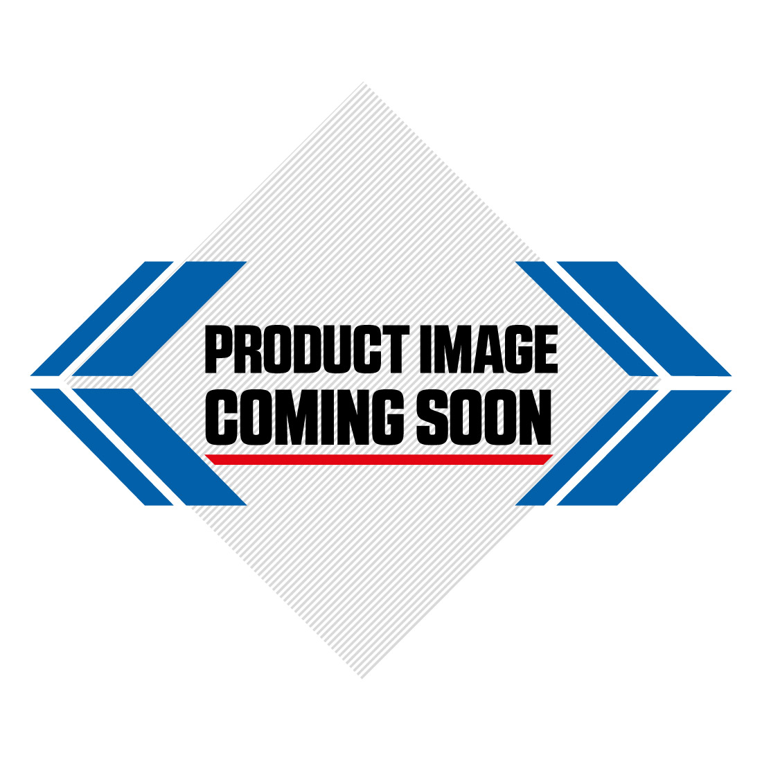 Honda Plastic Kit CR 250 (1987) UFO Red Image-1