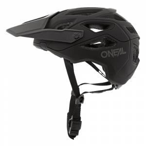 ONeal Pike Solid Black Grey Mountain Bike Helmet