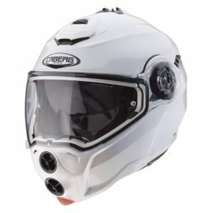 Caberg Droid Metal White Flip Up Helmet