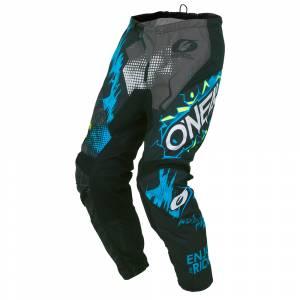 ONeal Kids Element Villain Grey Motocross Pants