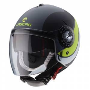 Caberg Riviera V3 Sway Matt Anthracite Black Yellow Fluo Open Face Helmet