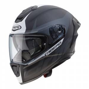 Caberg Drift Evo Carbon Matt Anthracite White Full Face Helmet
