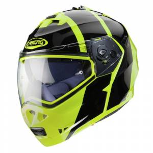 Caberg Duke II Impact Yellow Fluo Black Flip Up Helmet