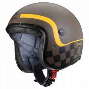 Caberg Freeride Formula Matt Brown Yellow Open Face Helmet