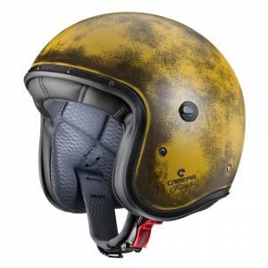 Caberg Freeride Yellow Brushed Open Face Helmet