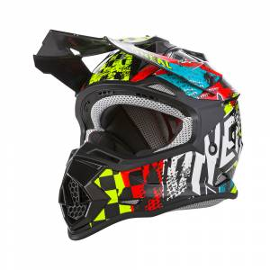 ONeal Kids 2SRS Wild Multi Motocross Helmet