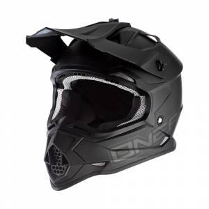 ONeal Kids 2SRS Flat Black Motocross Helmet