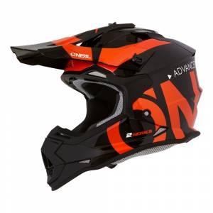 ONeal Kids 2SRS Slick Black Orange Motocross Helmet