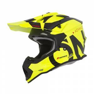 ONeal Kids 2SRS Slick Neon Yellow Black Motocross Helmet