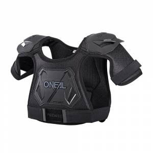 ONeal Kids Peewee Black Chest Guard