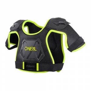 ONeal Kids Peewee Neon Yellow Chest Guard