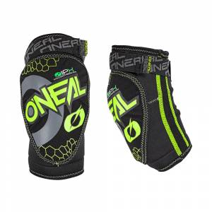 ONeal Kids Dirt Neon Yellow Elbow Guard