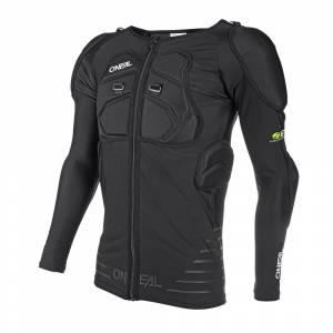 ONeal STV Protector Black Long Sleeve Motocross Shirt