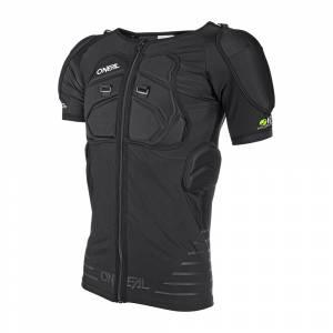 ONeal STV Protector Black Short Sleeve Motocross Shirt