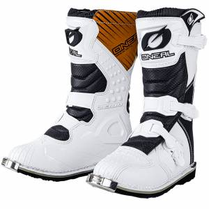 ONeal Kids Rider White Motocross Boots