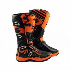 ONeal RMX Orange Black Motocross Boots