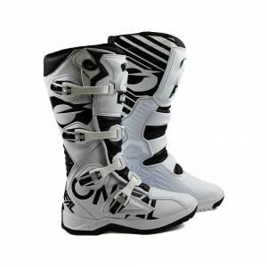ONeal RMX White Black Motocross Boots