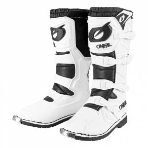 ONeal Rider Pro White Motocross Boots