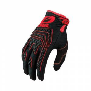 ONeal Sniper Elite Black Red Motocross Gloves