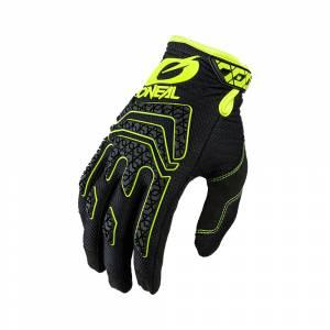 ONeal Sniper Elite Black Neon Yellow Motocross Gloves