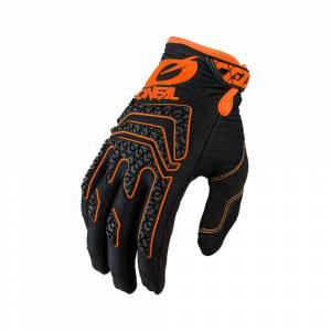 ONeal Sniper Elite Black Orange Motocross Gloves