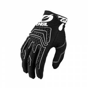 ONeal Sniper Elite Black White Motocross Gloves
