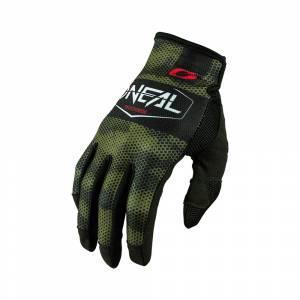 ONeal Mayhem Covert Black Green Motocross Gloves