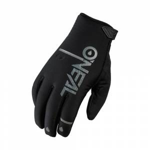 ONeal Winter WP Black Motocross Gloves