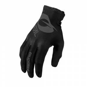 ONeal Matrix Stacked Black Motocross Gloves