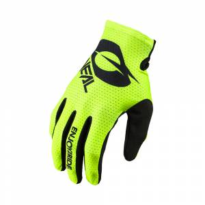 ONeal Matrix Stacked MX Gloves Neon Yellow