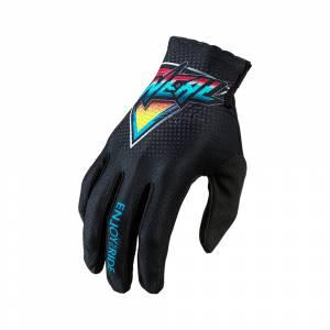 ONeal Kids Matrix Speedmetal Black Multi Motocross Gloves