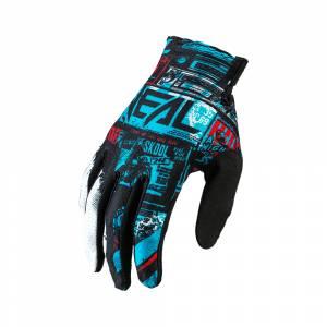 ONeal Matrix Ride Black Blue Motocross Gloves