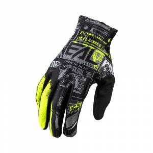 ONeal Matrix Ride Black Neon Yellow Motocross Gloves