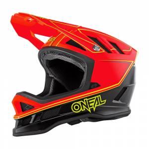 ONeal Blade Hyperlite Charger Neon Red Mountain Bike Helmet