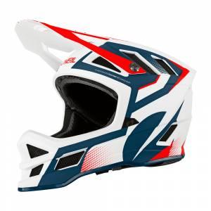 ONeal Blade Hyperlite Oxyd Blue Red Mountain Bike Helmet