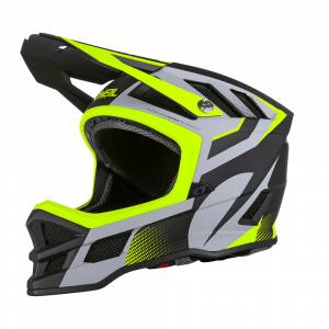 ONeal Blade Hyperlite IPX Oxyd Grey Neon Yellow Mountain Bike Helmet