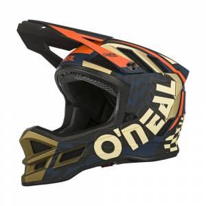 ONeal Blade Polyacrylite Zyphr Blue Orange Mountain Bike Helmet
