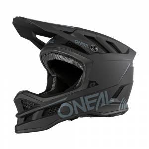 ONeal Blade Polyacrylite Solid Black Mountain Bike Helmet