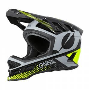 ONeal Blade Polyacrylite Ace Black Neon Yellow Grey Mountain Bike Helmet