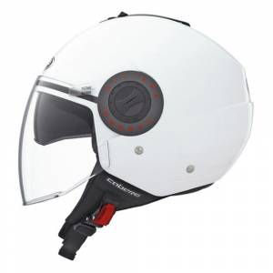 Caberg Riviera White Open Face Helmet