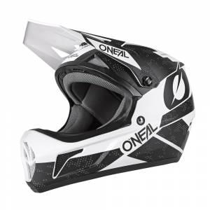 ONeal Sonus Deft Black White Mountain Bike Helmet