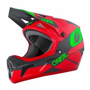 ONeal Sonus Deft Red Grey Green Mountain Bike Helmet