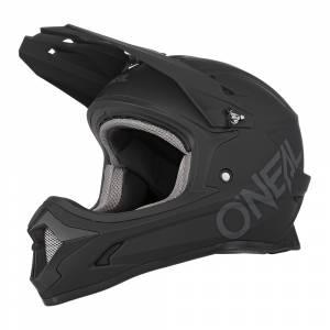 ONeal Sonus Solid Kids MTB Helmet Black
