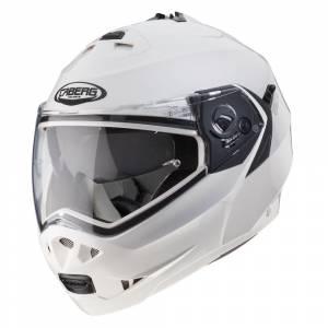 Caberg Duke II Metal White Flip Up Helmet