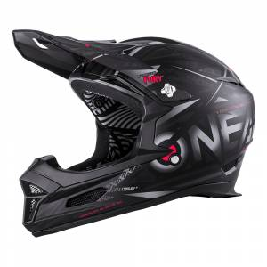 ONeal Fury Synthy Black Mountain Bike Helmet
