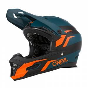 ONeal Fury Stage Petrol Orange Mountain Bike Helmet