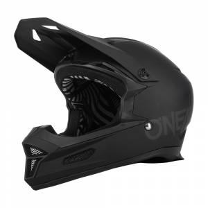 ONeal Fury Solid Black Mountain Bike Helmet