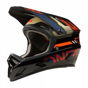 ONeal Backflip Eclipse Orange Blue Mountain Bike Helmet